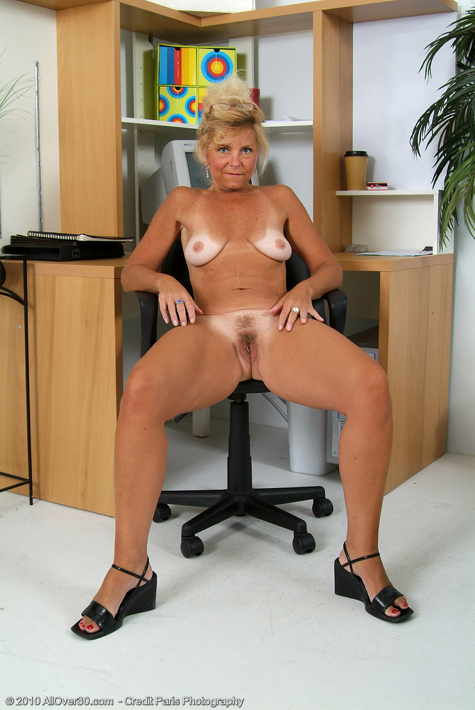 50 year old blond does anal 6