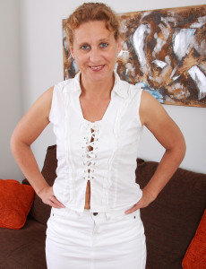 44 Year Old Inge from  Milfs30 Showing Her Very Fat  Beaver