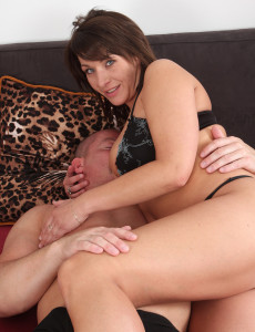 Sophia M from  Milfs30 Totally Loving Her Mans Hard Cock