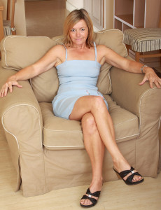 Blond Haired 48 Year Old  Mom Susie  Opens Her   Booty Wide for You Boys