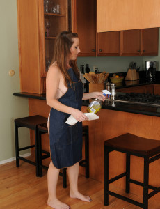 Super  Super  Super Horny  Wifey Tamara Fox from  Milfs30 Gets Hot in the Kitchen
