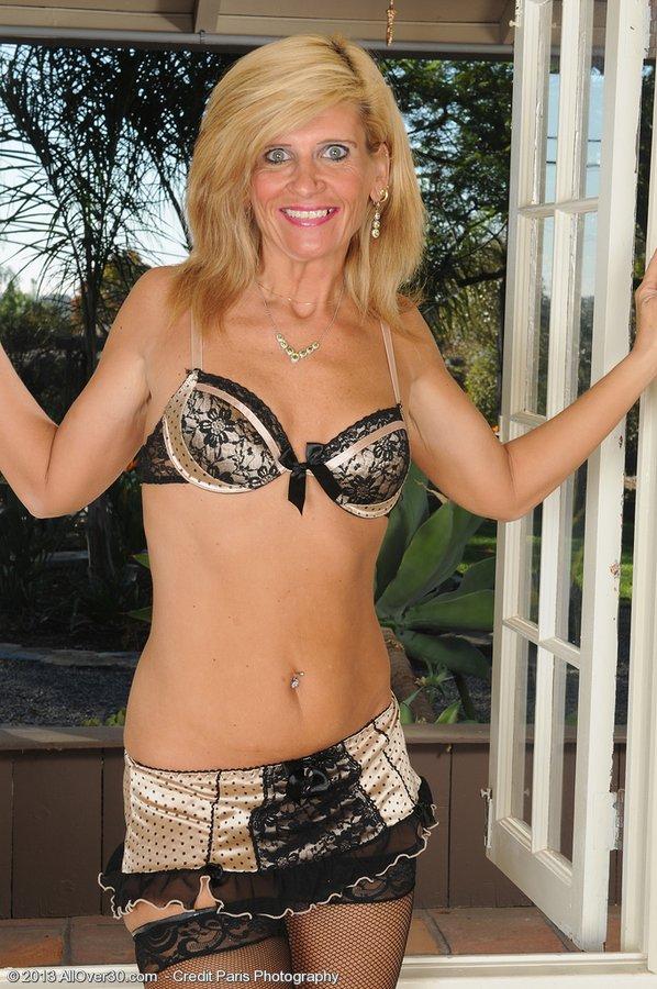 Crazy Blond Older Doll in Sexy Ebony Pantyhose Flaunts Her Body: www.milfs30.com/crazy-blond-older-doll-in-sexy-ebony-pantyhose...