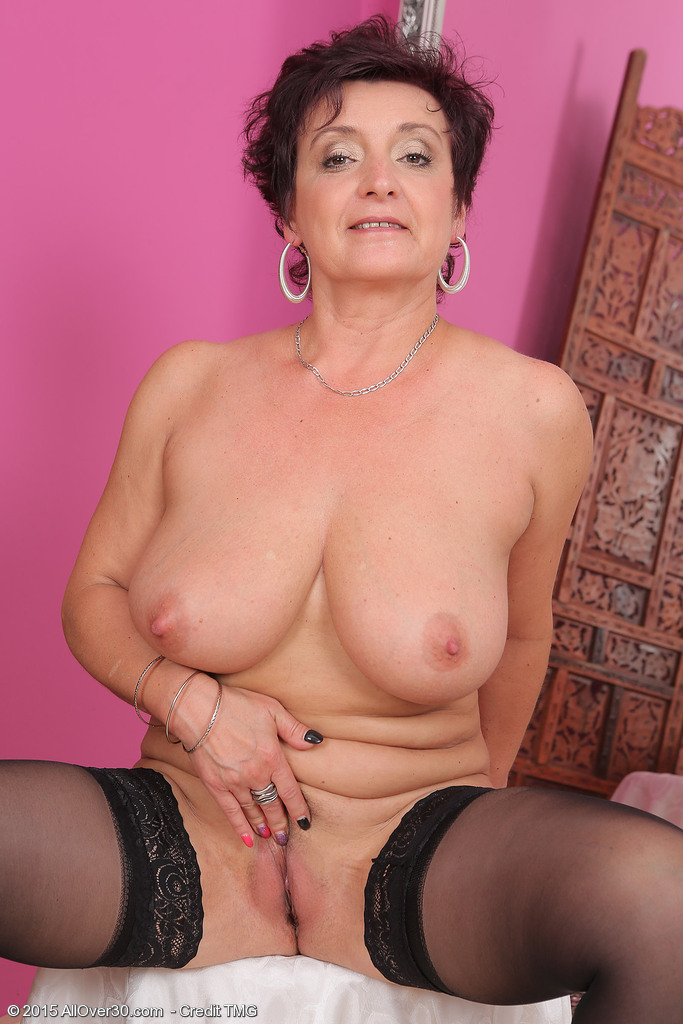 Mom horny old milf takes home toy boy from gym and teases 8