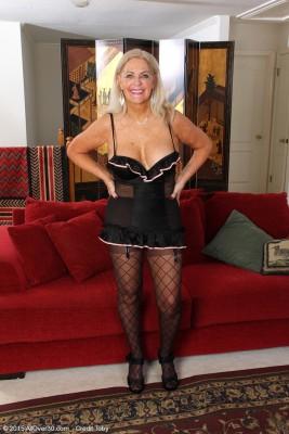 Blond 58 Yr Old Judy Mayflower Afrom  Milfs30 Liking Her Fucktoy