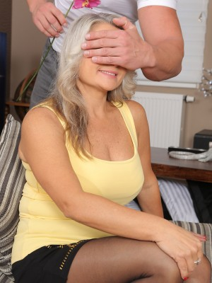 Platinum  Blond Zaira Connor Gets Flowers and Gets Laid in a Hot Xxx Scene
