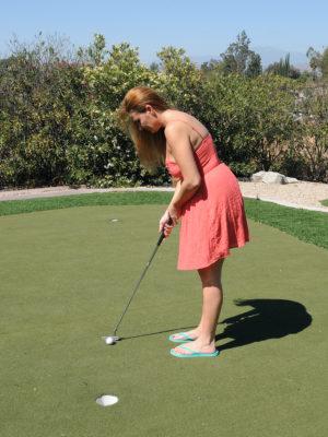 Hot Elexis Monroe Has Golf