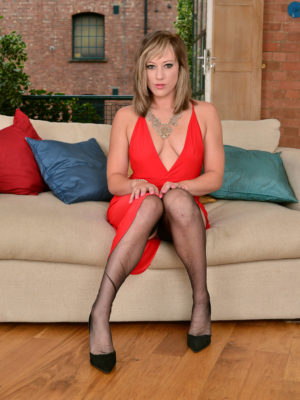 Handsome Axajay in a  Hot Red Dress