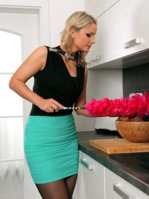Beautiful Holly B Doing Beautiful Housework