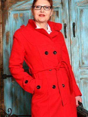 Elegant Redhead Babe Kristine Von Saar